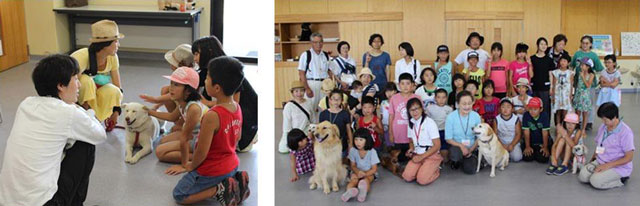 長野県動物愛護センターの動物ふれあい教室と出前