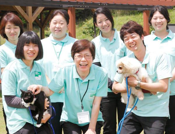 鹿児島県動物愛護センターは職員もアットホーム